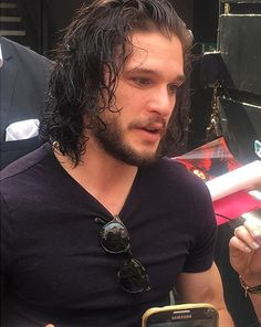 Kit Harington - Fan greetings for Doctor Faustus Kit Harington, Doctor Faustus, Jon Snow, Kit And Emilia, Game Of Thrones Cast, Just Beautiful Men, King In The North, Cute Actors, Perfect Boy
