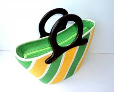 Native Bag Diagonaal - Geel