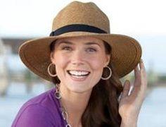 e576afb95b59 Coolibar Women s Wide Brim Fedora Sun Hats