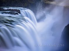 Gulfoss waterfall in West #Iceland.  Iceland is a landscape photographers paradise!
