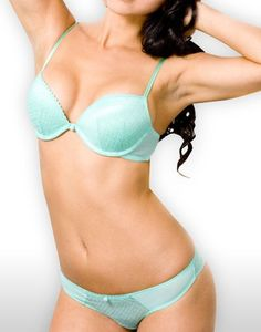seafoam bra & underwear set $40. I just got me a snazzy mint bra yayyy!
