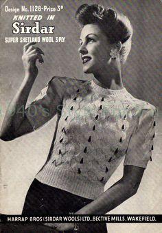 Dresses Beehive Hand Knits 1950 Misses Fashion Book 144 Suits Toppers Knitting Patterns Blouses