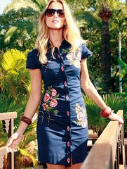 Almatrichi SS2015 Vestido FLOWER WEST