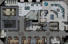 scifi dungeon map - Google Search