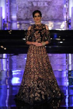 f0d6cd736ad Indian bridal outfit from Manish Malhotra s The Persian story Manish  Malhotra 2016