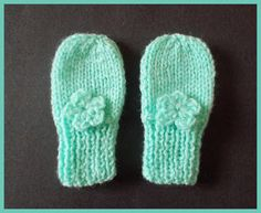 months, newborn, preemie This pattern includes 2 styles of baby mittens . One style has a ribbed cuff to ensure a snug fit The second style has a garter stitch border - and includes a rib Baby Mittens Knitting Pattern, Crochet Baby Mittens, Crochet Baby Blanket Beginner, Crochet Baby Boots, Knit Baby Booties, Baby Hats Knitting, Diy Crochet, Knitting Stitches, Free Knitting
