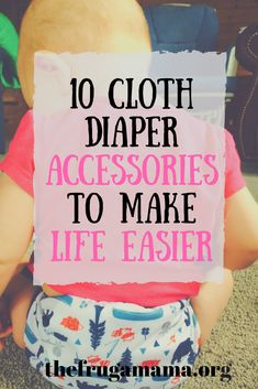 If you're cloth diapering, you'll definitely want these accessories! Cloth diapering, cloth diapers #clothdiapers #cloth
