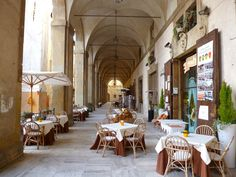 Logge Vasari is an excellent Tuscan Restaurant in Arezzo Italy  www.traveladept.com