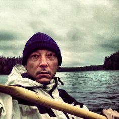 Autumn kayak
