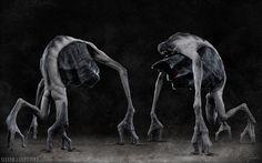 ArtStation - Sinner + Gluttony (Turn-around), KEOS MASONS - Marco Plouffe