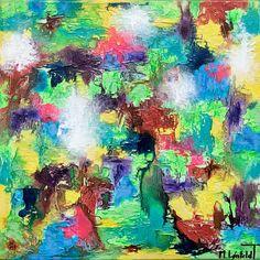 NEW PAINTING  Alteration II  40x40 cm  My website: https://artbylonfeldt.dk/  #art #arts #paintings #painting #fineart #artbylonfeldt