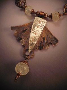 Icy Flight Necklace by Allison L Norfleet Bruenger Collections