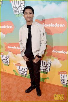 Tyrel Jackson Williams at the Kids Choice Awards 2016