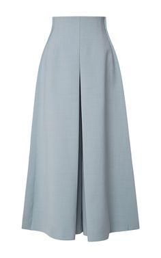 Midi Pant Skirt by DELPOZO for Preorder on Moda Operandi Source by naetaet Dope Fashion, Fashion Pants, Hijab Fashion, Fashion Outfits, Swag Fashion, Jupe Short, Sewing Pants, Hijab Style, Pantalon Large