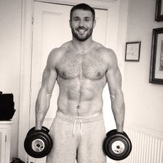 TGIF: Ben Cohen Works Out - I Need a Napkin For The Drool #TGIF