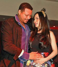 Actor Terrence Howard has revealed that he and his wife Miranda welcomed a baby boy four weeks ago! They named their bundle of joy Qirin Love.