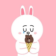 #cony #brown #conyandbrown #love #longdistancerelationship #longdistance #drawing #熊大 #兔兔