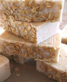 Peppermint oatmeal honey soap recipe