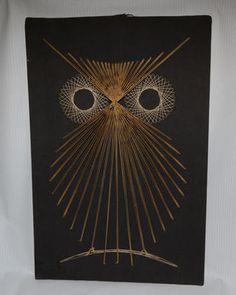Love Owl String Art.....