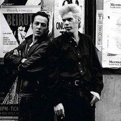 The Clash Joe Strummer and Jim Jarmusch