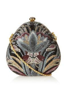 Judith Leiber Women's Pear Clutch, Multi