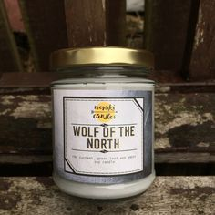 Wolf of the North by MerakiCandles on Etsy https://www.etsy.com/uk/listing/481892137/wolf-of-the-north