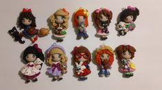 Lotto 10 bamboline in fimo, by GattaNera, 25,00  su misshobby.com