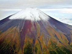 富士山が初冠雪…平年より11日遅く