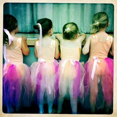 There's something whimsical and nurturing about ballet.