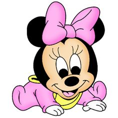 Baby Mickey and Minnie Mouse | Disney Baby Minnie Mouse Clip Art
