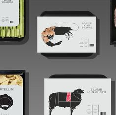 Food Packaging Concept by Nick Hill, via Behance