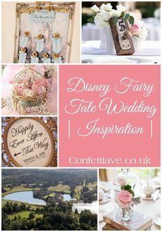 Disney Fairy Tale Wedding | Inspiration http://confettiave.co.uk/disney-fairy-tale-wedding
