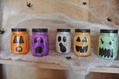 How to make Halloween Mason Jar Luminaries!