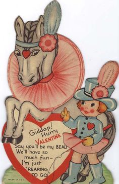Giddyap! Hurry Valentine - Say You'll Be My Beau - We'll Have So Much Fun - I'm Just 'Rearing To Go'