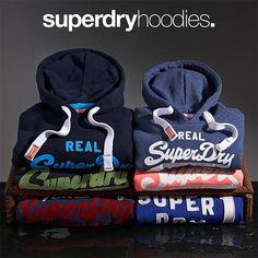 Sweats à capuche #Superdry pour homme #hoodie