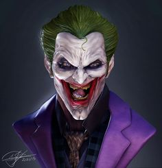 Long Live The Bat — The Joker by Andy Chin