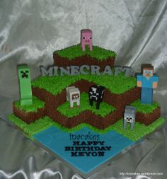 minecraft cakes | Minecraft In a Cake 4