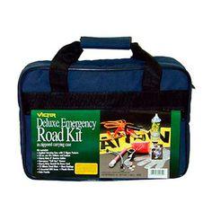 If your son, daughter or other family member is taking a car to college, make sure he or she has a roadside emergency kit. You never know when something might happen and it's good to be prepared just in case. #college #car #emergency