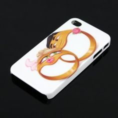 Cute iPhone 4/4S Case with Lover Rings Design