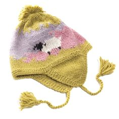 Kids Sheep Hat from Bolivia