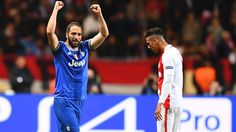 Player of the day: Higuain strikes twice Monaco, Believe, Football Gif, Latest Video, Champions League, Soccer, Baseball Cards, Sports, People