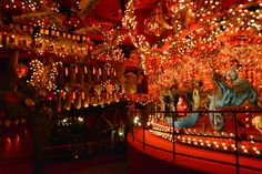 House on the Rock (Spring Green, WI): The World's Largest Carousel! Spring Green Wisconsin, Unique Vacations, House On The Rock, Carousels, Vacation Ideas, Worlds Largest, Dusk, Trip Advisor, Places To Go