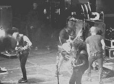 My Chemical Romance Band Funny   frank iero, funny, gerard way, jump, mickey way, my chemical romance ...
