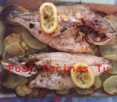 RUSTIDERA DE LUBINA Y DORADA ~ Post Cocinas Tu