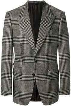 Tom Ford Jacket, Checked Blazer, Toms, Men's Fashion, Suits, Jackets, Shopping, Tips, Moda Masculina