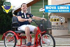 (2) Triciclo Elétrico Sem Pedal Adulto Ecot2 - Marca Ecostart - R$ 4.799,00 no MercadoLivre