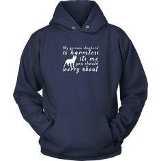 Latest German Shepherd Sleep Standard Unisex Sweatshirt Feel Safe At Night