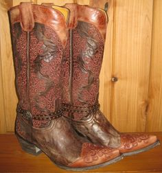 Old Gringo Inese Chocolate Boots, $630.00