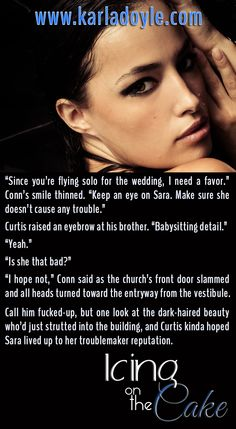 """Icing on the Cake by Karla Doyle """"babysitting detail"""" http://www.karladoyle.com/books/icing-on-the-cake/"""