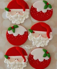 Cake Fondant Christmas Sweets Ideas For 2019 Cake Fondant Christmas Sweets Ideas For 2019 – Cupcake Christmas Biscuits, Christmas Sugar Cookies, Christmas Cupcakes, Christmas Sweets, Christmas Cooking, Noel Christmas, Christmas Goodies, Holiday Cookies, Christmas Crafts